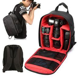 $enCountryForm.capitalKeyWord UK - Multi-functional DSLR Backpack Rucksack Case Bag Adjustable Waterproof For Video Photo Camera Lens Accessory 3 Color 34x21x13cm