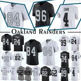 3c02f08ab 96 Clelin Ferrell Oakland jersey Rainders 82 Jordy Nelson 4 Derek Ca 52  Khalil Mack 89 Amari Cooper Football Jerseys