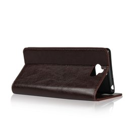 5f730131a2 Cow Phone Case UK - Genuine Leather Case For SONY Xperia XA3 XA2 XA1 Ultra  PLUS