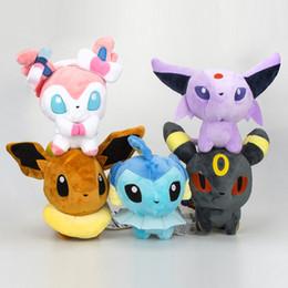 $enCountryForm.capitalKeyWord Australia - Pikachu Plush Toys Stuffed Peluche Animals Dolls Umbreon Eevee Toys Espeon Jolteon Vaporeon Flareon Glaceon Animals Stuffed Dolls