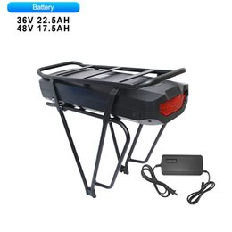 Cc Bikes Australia - 48V 36V Lithium Battery 17.5Ah 22.5Ah For Electric Bicycle With Lock E-bike Powerful Battery USB Connector 2500 18650 Cell CC CV