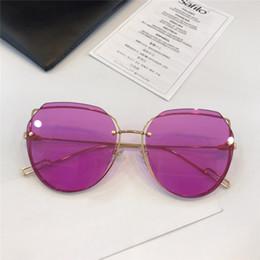 c32bd18255 New Fashion Women Sunglasses Designer Cat Eye Frame Sun Glasses Charming Cat  Ear shape Eyewear UV400 protection eyewear Come with Box