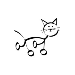 $enCountryForm.capitalKeyWord Australia - Cat Animal Stick Figure Car Window Vinyl Decal Sticker Cute And Interesting Fashion Sticker Decals