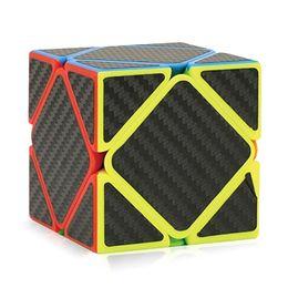 Magic Gifts Australia - Super low price Puzzle cube Children education toys carbon fibre Oblique magic cube Good Gift Toy Decompression Toys