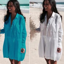 $enCountryForm.capitalKeyWord Australia - Dress Saida Praia Cotton Kaftan Beach Pareos De Playa Mujer Lace Bikini Swimsuit Cover Up #q662 Q190521