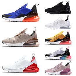 san francisco 83c97 11243 nike air max airmax 270 shoes hommes femmes Chaussures de course Be true  Hyper Grape Triple Black Core Blanc Volt Tea berry Photo Bleu Chaussures de  sport ...