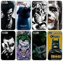 batman metal case UK - [TongTrade] Painted Batman Joker Case For iPhone 11 Pro Max X XS XR 8s 7s 6s Plus Galaxy J3 Huawei Mate 7 8 9 HTC Desire 626 Drop Proof Case