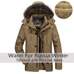 $enCountryForm.capitalKeyWord Australia - Men Winter Plus Size 6XL Thick Warm New Brand Winter Jackets Long Cotton Padded Ffleece Down Parka Pockets Windbreaker Jackets