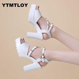 bridal peep toe heels NZ - Sexy Peep Toe Women Pumps Shallow Fashion Platform High Heels Shoes Women's Party Summer Ladies Shoes Bridal Zapatos Mujer