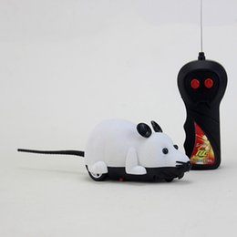 cat controllers NZ - Funny Cat Toy Mouse Wireless Simulation Remote Control Mouse Electric Funny Cat Pet Novelty Playing Toy Fake Mice