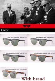 $enCountryForm.capitalKeyWord Australia - New Cat Eye Sunglasses Men Women UV400 Mirror glass lenses Fashion Retro Vintage Sun Glasses Eyewear with case and label