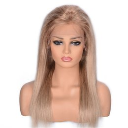 $enCountryForm.capitalKeyWord UK - Brazilian Straight Full Lace Human Hair Wigs 8 613 Blonde Glueless Lace Wig Natural Hairline 130% Density Ping