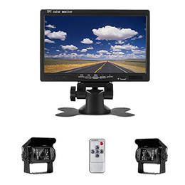 Trailer camera online shopping - 7 Inch Tft Lcd Car Monitor Display Rear View Camera For Bus Truck Rv Caravan Trailers