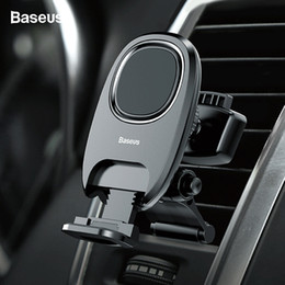 magnet air Australia - Baseus Magnetic Car Phone Holder Stand For Iphone Xs Max X Samsung S9 Xiaomi Air Vent Mount Car Holder Magnet Cell Phone Support T190621