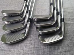 $enCountryForm.capitalKeyWord Australia - New Golf Club M-718 Silvery Iron 8 picec Suits 3-9.P Loft R S Flex Steel Shaft With Head Cover Free Delivery