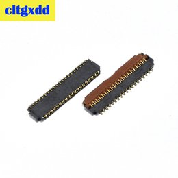 $enCountryForm.capitalKeyWord Australia - cltgxdd 2pcs 39Pin FPC Connector Port Plug for showing display on Mainboard for Xiaomi Redmi note 4 4X   note 3   2 ,L:13.2mm