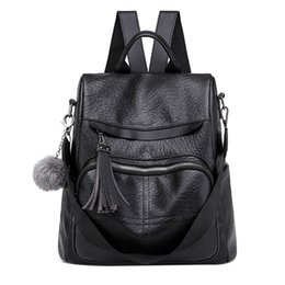 Casual Pu Backpack Women Black Preppy Style School Bags For Teenage Girls  High Quality Fashion Travel Tote Backpac 10 efbbedd6c7