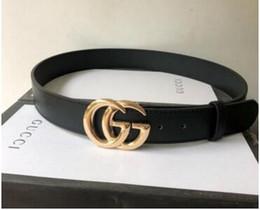 GUCCI Louis Vuitton Hommes femmes ceinture noire Ceinture en cuir véritable Business Ceintures Couleur pure ceinture motif de serpent boucle ceinture pour le cadeau 231 en Solde