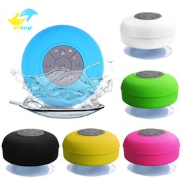 portable waterproof stereo wireless bluetooth speaker UK - Vitog Mini Wireless Bluetooth Speaker stereo loundspeaker Portable Waterproof Handsfree For Bathroom Pool Car Beach Outdoor Shower Speakers