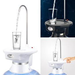 $enCountryForm.capitalKeyWord Australia - New Water Pump Six Kinds Patterns Barrels   Desk Tray Wireless Rechargeable Electric Dispenser Water Pump For Barrelled Water J190722