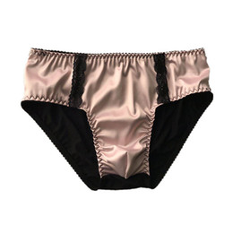 cc6a7257856 Sexy Nylon Underwear For Men Softy With Penis Pouch Breathable Low Rise  Funny Gay Male brief Underpants Panties sissy