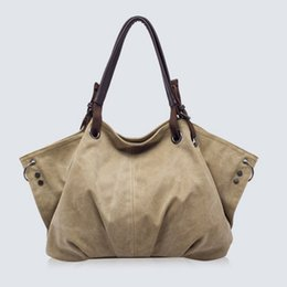 $enCountryForm.capitalKeyWord Australia - New Female Handbag Women Large Thicken Canvas Casual Tote Messenger Bags Colofuls Hobo Bolsas Femininas Grandes Shoulder Bag