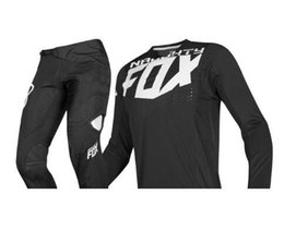 $enCountryForm.capitalKeyWord UK - 2019 NAUGHTY FOX MX 360 Kila Black Jersey Pants Motocross Motorcycle Dirt bike ATV MTB DH Racing Men's Gear Set