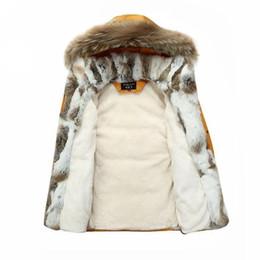 China Fur Warm White Duck Feather Coat Long Winter Jacket Women Down Parka Plus Size 2018 Rabbit Hair Hooded Outerwear Okd449 cheap white women hair weaves suppliers