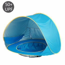 Pop Up Beach Shade Australia - Baby Beach Tent Waterproof Pop Up Portable Shade Pool UV Protection Sun Shelter for Infant Kids Outdoor Camping Sunshade Beach