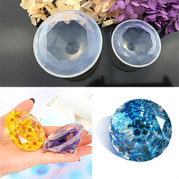 $enCountryForm.capitalKeyWord Australia - Creative Making Moulds Diamond Shape Crystal Silicone Jewelry Molds DIY Handmade Love Heart Cake Decorating Tools