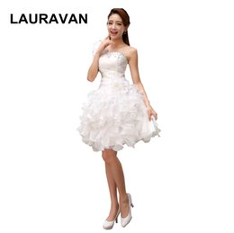 Party chiffon dresses for teens online shopping - light yellow ivory beautiful bridemaids girls bridesmaid short party dresses for teens one shoulder dress wedding free