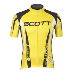 scott cycle shirts 2019 - 2019 SCOTT Team cycling Jersey high quality men summer breathable quick dry racing bicycle clothing short sleeve bike sh