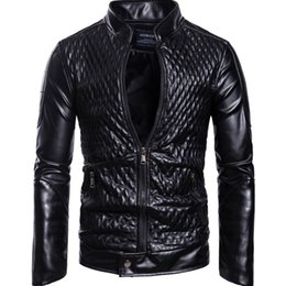 Motorcycles boys jacket online shopping - Mens Designer Jacket Fashion Trend Stand Collar Zipper Closed Printed Plaid Motorcycle Apparel Fall New Boys Hiphop Brand Clothes
