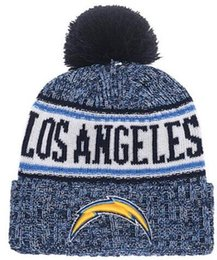 d9ff0165 Wholesale Sport Winter Hats Chargers Stitched Team Logo Brand Warm Men  Women Hot Sale Knitted Caps Cheap Mixed Beanies mix order snapback