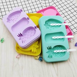 $enCountryForm.capitalKeyWord Australia - Food Grade Mold Soft Silicone Ice Cream Molds Self Control Summer Popsicle Moulds With Purple Green Color 12 5sha J1