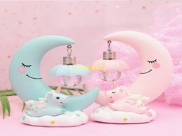 Student lampS online shopping - Girl heart instagram style small night lamp creative home furnishing resin crafts to send birthday gifts to students