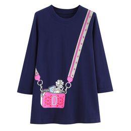 Designer girls Dresses sale online shopping - Kids Designer Clothes Girls Unicorn Dress American Hot Sale Baby Girl Dress Animals Appliqued Kids Party Dress