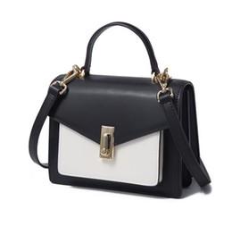 $enCountryForm.capitalKeyWord UK - 2019 new explosion models Korean leather handbags ladies handbags shoulder diagonal package leather one generation white