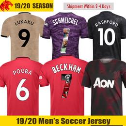 cdb7a819620 19 20 Man utd POGBA Soccer Jerseys 2019 2020 ALEXIS Football Shirt RASHFORD  Soccer Shirt DE GEA Goalkeeper Jersey