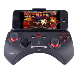 Pc Gamepad Controllers NZ - IPEGA PG-9025 Gamepad PG 9025 Wireless Bluetooth Game Console Phone Joystick Game Controller For Android Smartphone PC TV Box