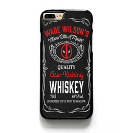 Galaxy 5s Phone Cases UK - Wade Wilson Whiskey Dead Phone Case For Iphone 5c 5s 6s 6plus 6splus 7 7plus Samsung Galaxy S5 S6 S6ep S7 S7ep