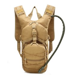 China Tactical Backpack Water Bag Sports Camelback Tactical Camel bags Backpack Hydration Military Pouch Rucksack Camping Bicycle Pack suppliers