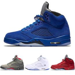 082c53f3e4a0 new wings 5 5s basketball shoes black grape black white reflective camo  oreo white cement fire red designer sneakers 40-47 lzfsport