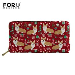 Luggage & Bags Forudesign Cute Corgis Printed Women Men Credit Id Card Holder Case Business Bank Cards Bag Leather Small Purse Carteira Mujer