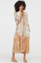 $enCountryForm.capitalKeyWord UK - Women Beach Kimono Cardigan Bohemian Long Blouses shirts Floral Print Loose Robe Female Casual Holiday Seaside Party Kimono Femme Sundress