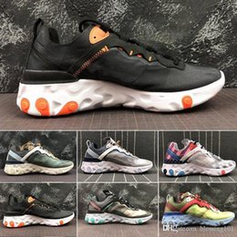 $enCountryForm.capitalKeyWord NZ - 2019 Total Orange AIR React Element Running Shoes For Women men Dark Grey Blue Chill Trainer Sail Green Mist Sports Sneakers 36-45