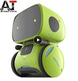 Nouveau type intelligent Robots danse Commande vocale 3 Langues Versions Touch Control Toys Interactive Robots Cadeaux jouets mignon pour les enfants en Solde