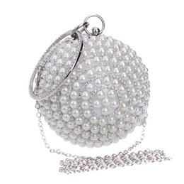 $enCountryForm.capitalKeyWord Australia - Fashion Banquet Pearl Handbags Cosmetic bags travel receipts cosmetic receipts Party Clutch Bag Ball Bag For Women In Stock Free Shipping