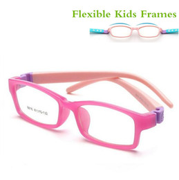 flexible kids glasses 2019 - Bendable No Screw Kids frame glasses Boy Child glasses Flexible Children frames eyewear TR90 Optical glass 8816 for 5-10