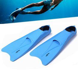 $enCountryForm.capitalKeyWord Australia - Super-soft Snorkeling Long Blade Enclosed Heel Swimming Fins Long Flippers Portable Comfortable Diving Training Equipment